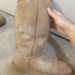 Ugg boots brown tall